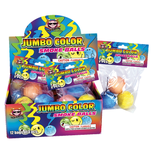Jumbo Color Smoke Balls