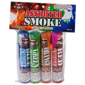 Assorted Smoke - Sky Bacon Fireworks