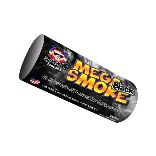 Black Mega Smoke | Smoke Bombs | Sky Bacon Fireworks