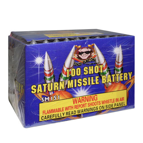 Saturn Missile Battery - 100 Shot | Sky Bacon