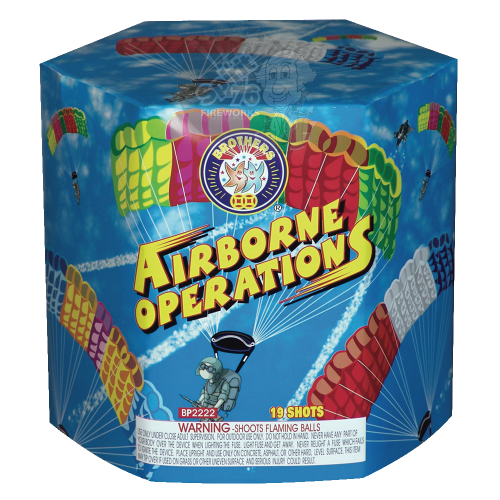 Airborne Operations - Brothers Fireworks