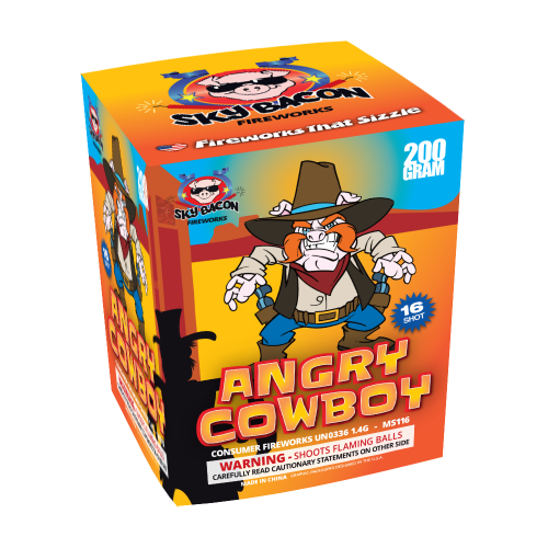 Angry Cowboy Firework