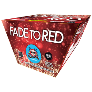 Fade to Red - Sky Bacon Fireworks