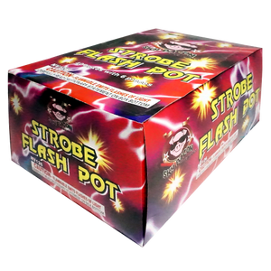 Strobe Flash Pot - Sky Bacon Fireworks