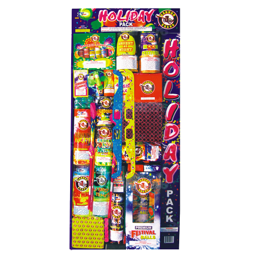 Holiday Pack Assortment | Assortment | Cannon Fireworks