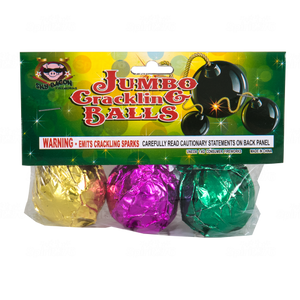 Jumbo Crackling Ball | Novelties (Ground) | Sky Bacon Fireworks