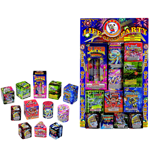 Life of the Party | Assortment | Winda Fireworks