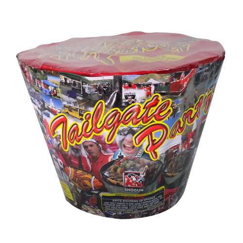 Tailgate Party | 500G Fountains | Shogun Fireworks