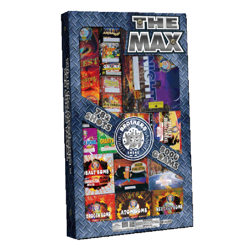The Max Assortment | Brothers Fireworks