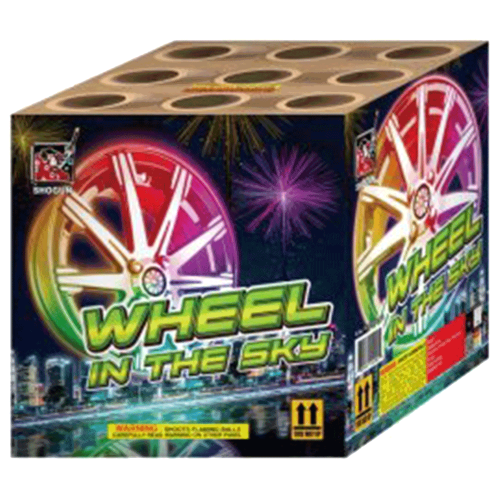 Wheel in the Sky | 500 Gram Cake | Shogun Fireworks