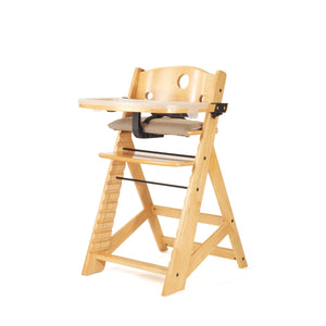 Height Right High Chair with Tray - Natural