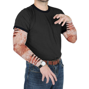 Beistle 00547 Zombie Bite Party Sleeves44; Pack Of 12