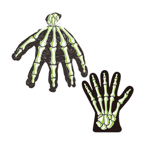 "Skeleton Hand Treat Bags 9"" x 11"" - 24 Pack (10/Pkg)"