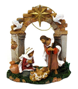 IWGAC Genuine Holiday Home Decor Collectibles Fontanini Limited Edition Holy Family Ornament Gift