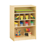 Jonti-Craft 0358JC Mobile Block Shelf