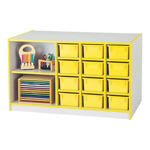 Rainbow Accents Mobile Storage Island - without Trays