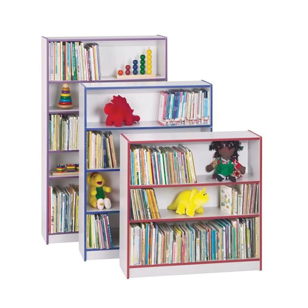 Rainbow Accents Bookcase - 48
