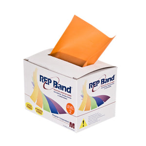 Rep Band Exercise Band - Latex Free - 6 Yard - Orange, Level 2