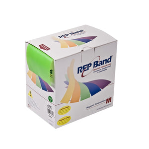 REP Band exercise band - latex free - 50 yard - lime, level 3