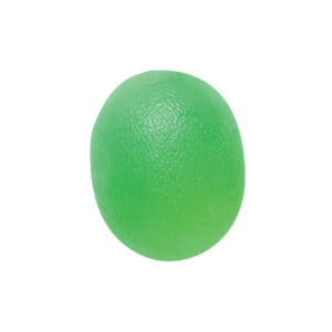 Cando 10-1893 Green Cylindrical Hand Exercise Ball, Medium Resistance, Large