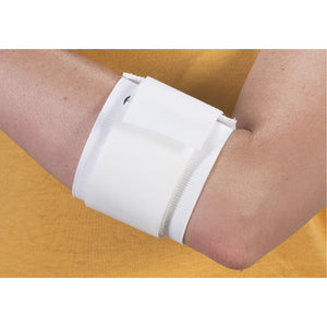 Bilt-Rite Mastex Health Tennis Elbow Support, White