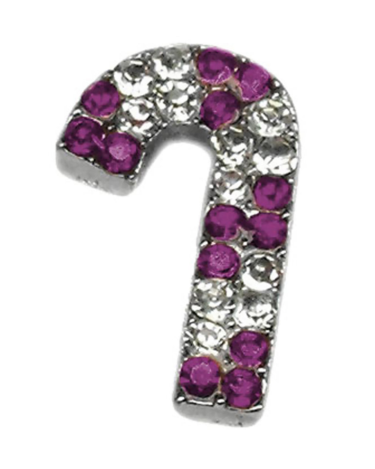 Pet Supplies Pink and Purple Candy Cane Charms Purple