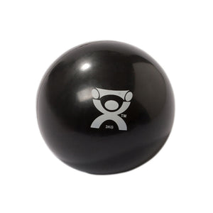 "CanDo 10-3165 Wate Ball, Hand-Held Size, 6.6 lb, 5"" Diameter, Black"