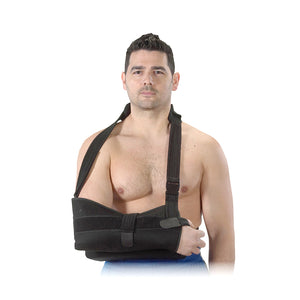 Bilt-Rite Mastex Health Shoulder Immobilizer, Black