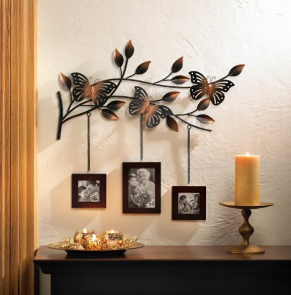 Home Locomotion - Butterfly Picture Frame Decor (pack of 1 EA)