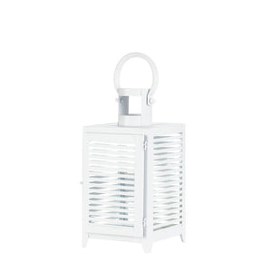 Gallery of Light White Horizon Lantern