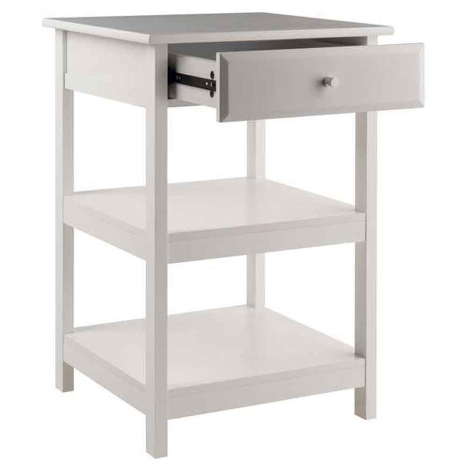 Winsome Delta Printer Stand White Home Office