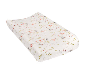 Trend Lab Winter Woods Flannel Changing Pad Cover
