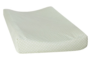 Trend Lab Sea Foam Dot Changing Pad Cover
