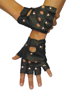 Seasons Best Halloween Party Costumes Accessories Gloves Ez Rider Studded