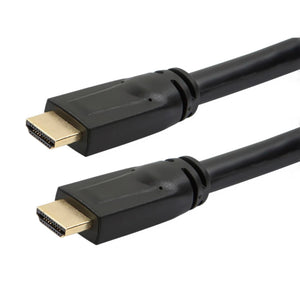 Commercial Series Plenum (CMP) Standard HDMI Cable with Ethernet, 50ft