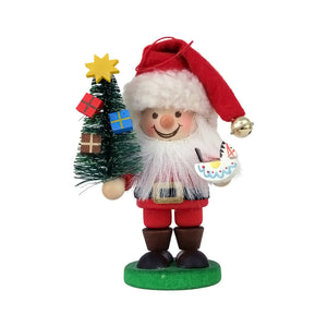"Christian Ulbricht 13-0800 Ornament-Santa-4"" H x 3"" W x 2"" D, Red"
