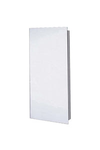 Euroline Series Recessed Slim Style Medicine Cabinet Polished Edge Mirror