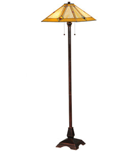"Meyda Tiffany 138112 Lighting, 62"" H, Finish: Mahogany Bronze"