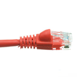 5 Foot Red Cat6a Ethernet Patch Cable, Snagless/Molded Boot with RJ45 Connector, 500 MHz, 24 AWG, UTP(Unshielded Twisted Pair) Stranded Copper, Internet Patch Cable, CableWholesale