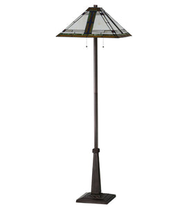 "Meyda Tiffany 145071 Lighting, 63"" Height, Finish: Mahogany Bronze"