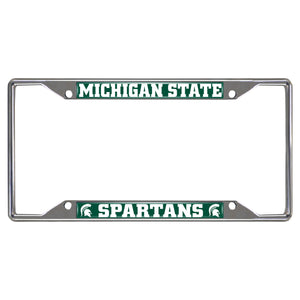 "Michigan State University License Plate Frame 6.25""x12.25"""