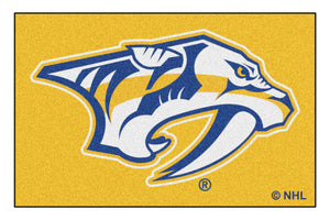 NHL Nashville Predators Starter Mat, Small, Black