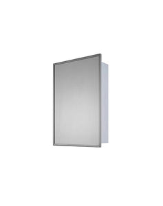 Deluxe Series Surface Mounted Medicine Cabinet Stainless Steel Framed