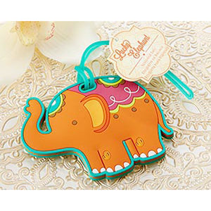 Lucky Elephant Luggage Tag