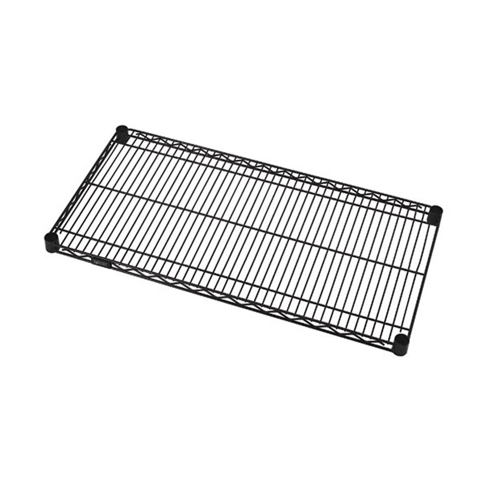 Quantum 1824BK Wire Shelf, 18
