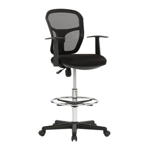 Studio Designs Riviera Drafting Chair, Black