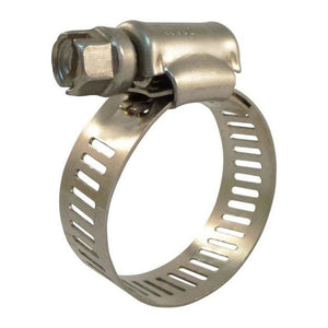 "Taj Tools 1/2"" to 1-1/4"" Stainless Steel Hose Clamps - Pack of 25"