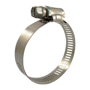 "1"" to 2"" Stainless Steel Hose Clamps - 25 Pack"