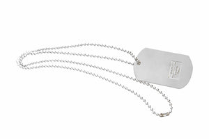 NFL Los Angeles Chargers Glitter Dog Tag