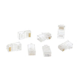 Cmple - Cat6 Modular Plugs RJ45 Solid 100 Pack